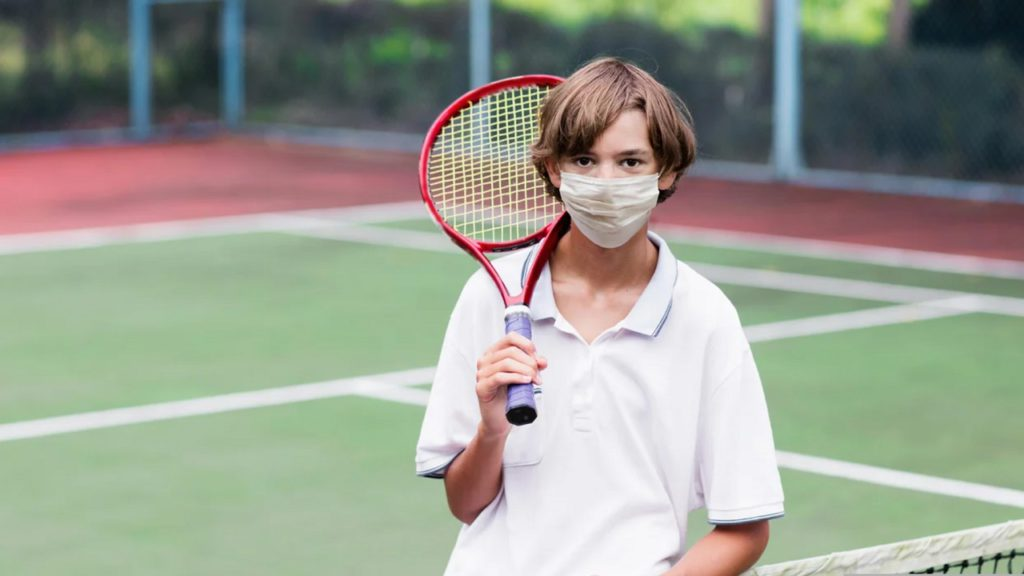 Masking children playing sports outdoors is anti-science child abuse