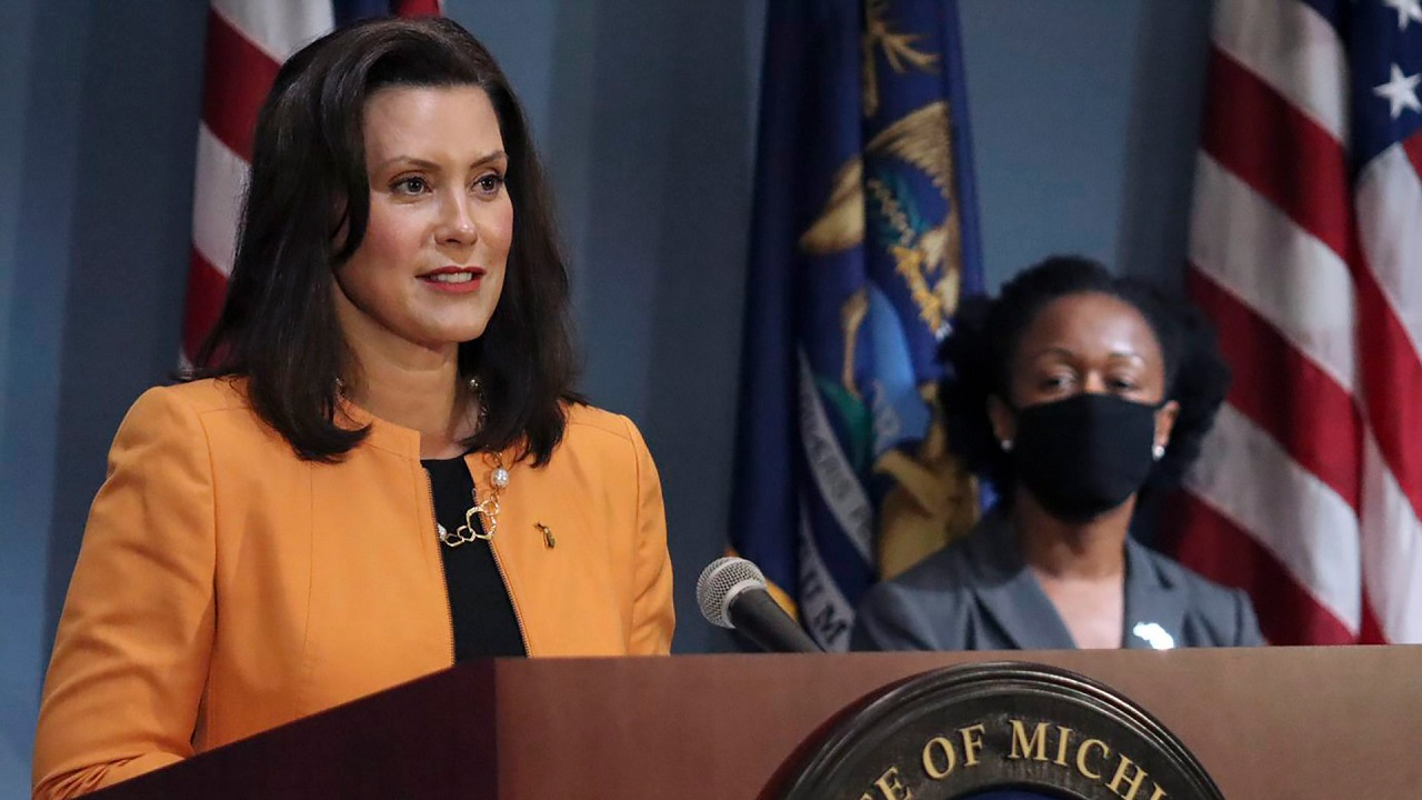 Whitmer: COVID-19 is surging in Michigan even with strict mask mandates and capacity restrictions