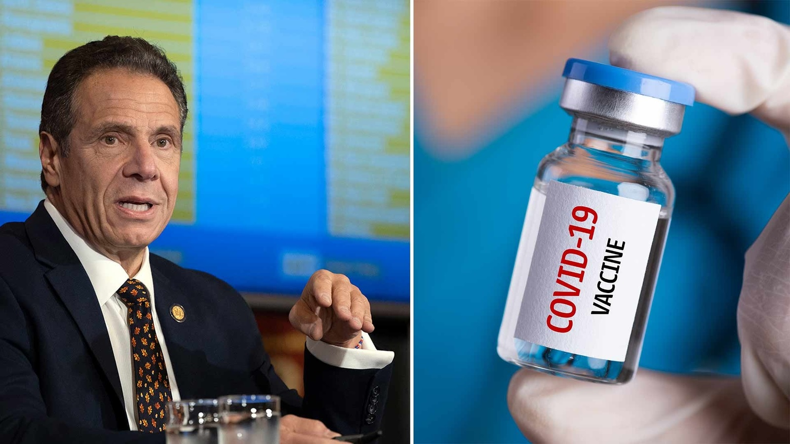 You Simply Cannot Make Up Cuomo's Latest Advice on the COVID Vaccine